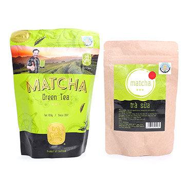 Combo Matcha Trà Guộc Và Trà Sữa Matcha 100Gr