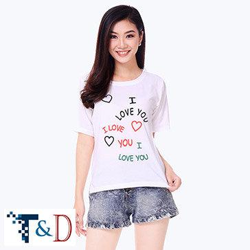 Áo Bull Nữ I Love You - TH T&D