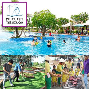 Trọn Gói 04 Trò Chơi Tại Khu Du Lịch BCR: Hồ Bơi + Mini Golf + Nông Trại + Bóng Lăn