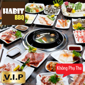 Buffet Lẩu Nướng Đẳng Cấp Menu Vip Tại Nhà Hàng Habit BBQ