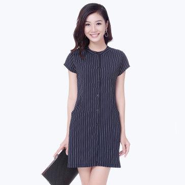 Đầm Sơ Mi Kẻ Sọc Style