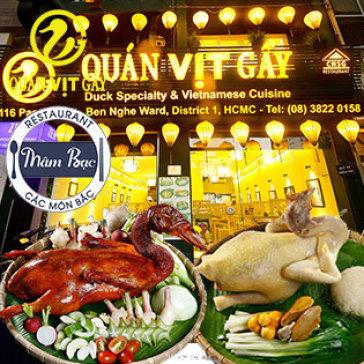 Hệ Thống Mâm Bạc & Vịt Gầy - HT Cơm Niêu Sài Gòn