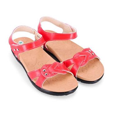 Giày Sandal Bé Gái Bitas S0B.206 Màu Đỏ