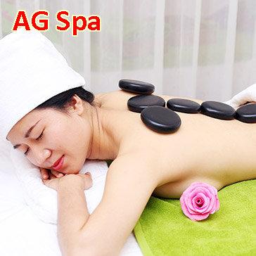 Miễn Tip - (120') Massage Body + Foot + Ngâm Chân + Chăm Sóc Da Mặt + Đắp Mặt Nạ - AG Spa