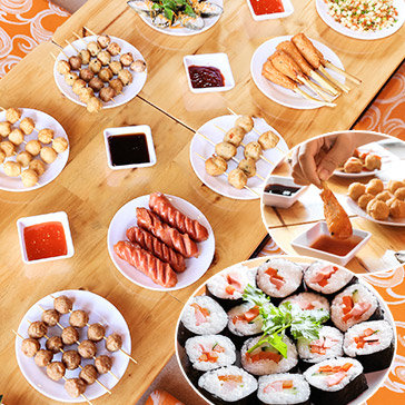 Buffet Fast Food Kiểu Singapore Độc Đáo - Laho Claypot & Bubble Tea