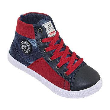 Giày Vải Bé Trai Bita's GVBT.41Xanh Jean