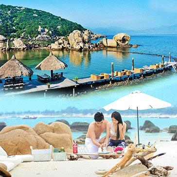 Tour Đảo Bình Hưng 2N2Đ – Tiệc BBQ Tôm Hùm - Yến Bay Resort - Thắng Cảnh Bàu Trắng Đẹp Như Phim – Đi Và Về Bằng Xe Giường Nằm – Giá Cực Sốc