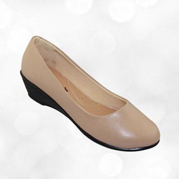 Giày Búp Bê Bitas GBW.013 Màu Kem