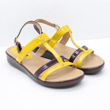 Sandal Nữ Bitas Syn.144 Màu Vàng
