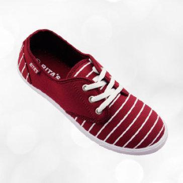 Giày Nữ Bitas GVW.023 Đỏ Đô
