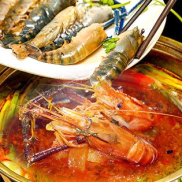 Lẩu Tôm Càng Xanh Cho 2- 3 Người Tại Nhà Hàng Nàng Cua