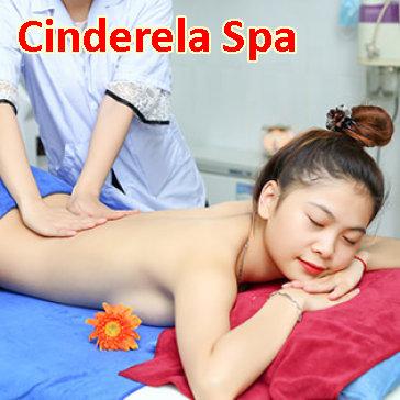 Miễn Tip - (120') Massage Body + Foot + Chạy Collagen Tươi + Đắp Mặt Nạ - Cinderela Spa
