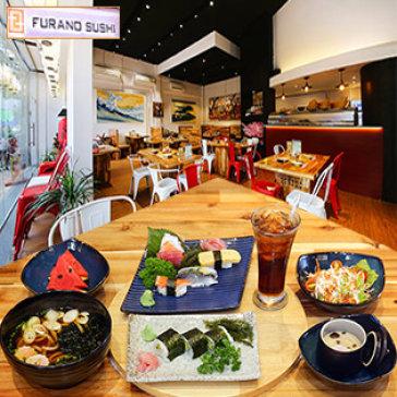 Set 06 Món Nhật Giá Sốc + 01 Ly Nước Ngọt – Hệ Thống Furano Sushi