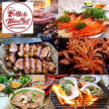 Buffet BBQ Bò Tơ, Hải Sản Gần 70 Món Tại Hệ Thống Bò Tơ Nhân Phát