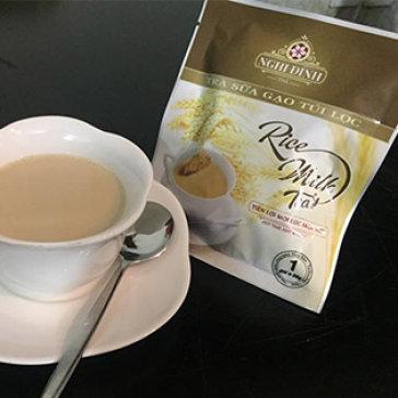 2 Bịch (30 Gói) Trà Sữa Gạo Túi Lọc Nghi Đình - Trà Sữa Túi Lọc Đầu Tiên Tại Việt Nam