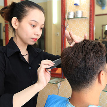 Trọn gói Uốn/Duỗi/Nhuộm/Bấm Tóc Tự Chọn Tại Hair Salon Kéo Vàng - Cam Kết Không Bù Tiền