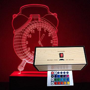 Đèn Trang Trí, Đèn Ngủ 3D 16 Màu , 4 Chế Độ Có Remote Điều Khiển BST3