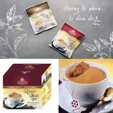 02 Hộp (20 Gói) Trà Sữa Túi Lọc Nghi Đình - Trà Sữa Túi Lọc Đầu Tiên Tại Việt Nam