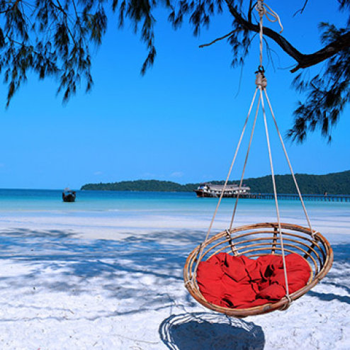 Tour Campuchia 4N3Đ: Biển Sihanouk Ville – Đảo Kohrong - Cao Nguyên Bokor – Nghỉ KS 3*, 5*