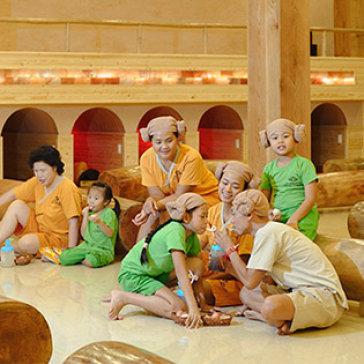 Trọn Gói 1 Ngày Xông Hơi Thải Độc Jjim Jil Bang Hàn Quốc + Miễn Phí 5 Xu Game Giải Trí Tại Golden Lotus Healing Spa World