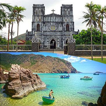 Tour Quy Nhơn - Phú Yên 3N3Đ Khứ Hồi Xe Lửa – Nghỉ KS 3* & 5*- KDL Ghềnh Ráng - Gành Đá Đĩa