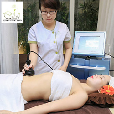 Ellis Spa - 90 Phút Giảm Béo Bằng CN Cao - Laser Cavitation/ Sauna & Massage Làm Săn Chắc Và Thư Giãn Body