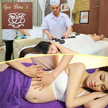 Massage Ấn Huyệt Trị Liệu, Thông Huyệt Đạo & Giảm Béo / Gói Chăm Sóc Sau Sinh - Đông Y Spa & Clinic