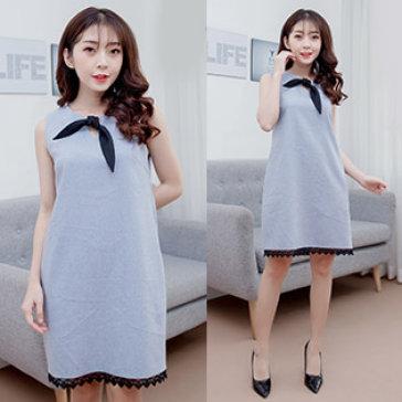 Đầm Suông Phối Chân Ren DM005