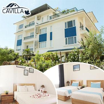 Nghỉ Dưỡng Cavilla Boutique Hotel - Sát Biển 2N1Đ - Cho 02 Khách
