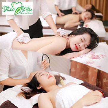 Combo (90') Massage, Chăm Sóc Da Mặt + Body Bằng Dưỡng Chất Thiên Nhiên - Thảo Mộc Beauty Care