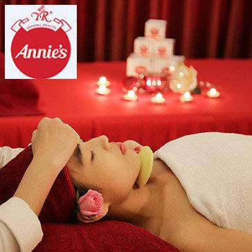 Trọn Gói 90 Phút Ủ Trắng Da Mặt Bằng Tinh Chất Nhân Sâm Hàn Quốc Và Dương Xỉ Biển Tại Annie Beauty House