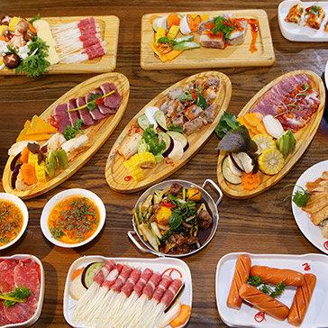 Buffet Tối Hơn 50 Món Lẩu Nướng Không Giới Hạn Bò Mỹ & Hải Sản, Đà Điểu, Nai Cao Cấp Tại Hệ Thống NH Sườn No.1 – Áp Dụng Cả Lễ