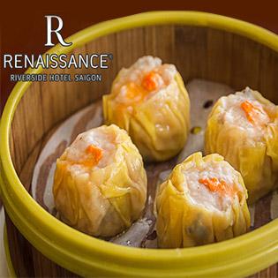 Buffet Trưa/ Tối Dimsum Và Hải Sản Hơn 70 Món Đẳng Cấp 5 Sao – Renaissance Riverside Hotel Saigon - Bao Gồm Nước