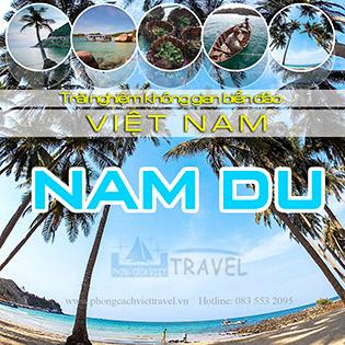 Tour Đảo Nam Du 2N2Đ – Khám Phá Tiên Cảnh Phương Nam – Hòn Củ Tron – Bãi Cây Mến – Xe Giường Nằm