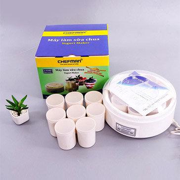 Máy Làm Sữa Chua 1.6L 8 Cốc T.H Chefman Hàng BH 24 Tháng