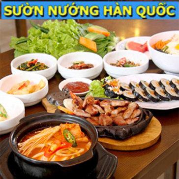 Ăn Ngon, Giá Sốc - Set Menu Hàn Quốc Dành Cho 2 Người - NH Sườn Nướng Hàn Quốc