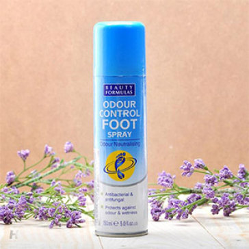 Xịt Khử Mùi Chân Hiệu Qủa Beauty Formulas 150ml – NK Từ Anh Quốc