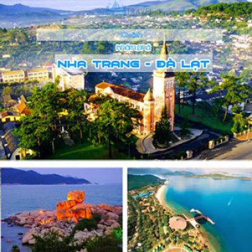 Tour Nha Trang Đà Lạt 4N4Đ Tham Gia Lễ Hội Festival Hoa 2017 – Biển Xanh Cát Trắng – Rừng Hoa Phố Núi
