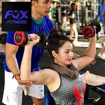 Fox Fitness - Giá Shock 03 Tháng Tập Gym, Yoga Không Giới Hạn Thời Gian