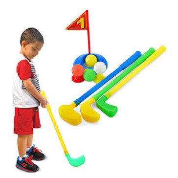Bộ Đồ Chơi Đánh Golf Cho Bé/ Túi Lưới HT2023 - Hoàng Thu Toys