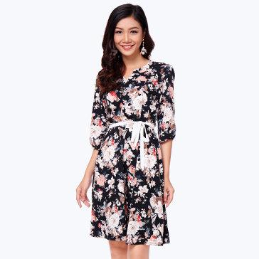 Đầm Vintage Sang Trọng - TH Hiệp Vĩnh Phát