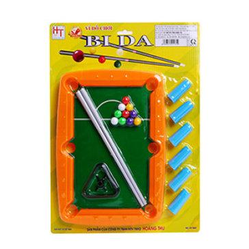 Vỉ Đồ Chơi Bida Loại Lớn Cho Bé HT7603 - Hoàng Thu Toys