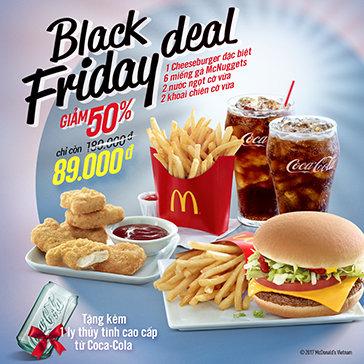 McDonald's - Trải Nghiệm Vị Ngon Lừng Danh Thế Giới! Duy Nhất Tại Hotdeal
