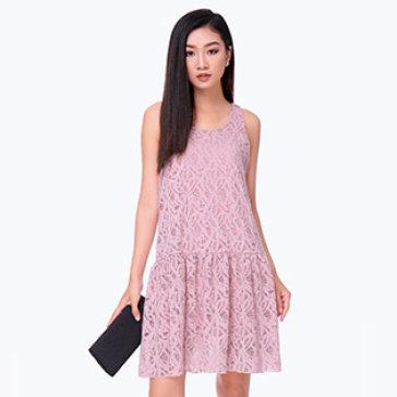 Đầm Ren Đuôi Cá Đính Kim Sa Sang Trọng- Thương Hiệu Cirino