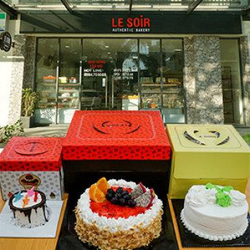 Tự Chọn Các Loại Bánh Kem Bắp Cao Cấp, Nguyên Liệu Nhập Khẩu – Le Soir Bakery
