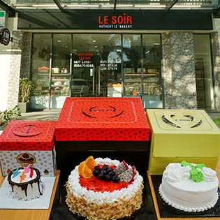 Le Soir Bakery - Tự Chọn Các Loại Bánh Kem Bắp Cao Cấp, Nguyên Liệu Nhập Khẩu