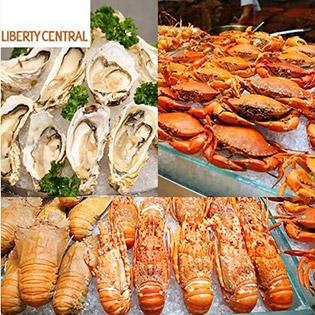 Buffet Tôm Hùm, Hải Sản Và Các Món Cao Cấp Cuối Tuần Tại Liberty Citypoint 4* Hotel