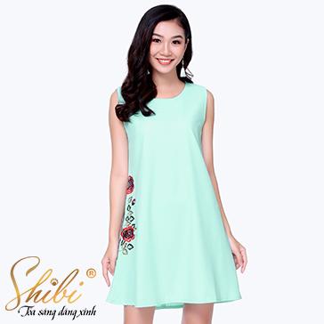 Đầm Suông Công Sở Shibi SB134