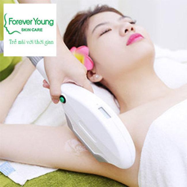 Forever Young - Triệt Lông Vĩnh Viễn, Không Đau, BH 3 Năm (5 -10 Lần)