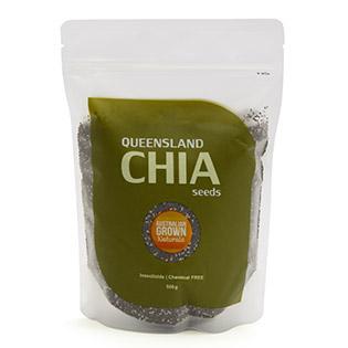 Hạt Chia Úc Queensland 500Gram – Epco Foods